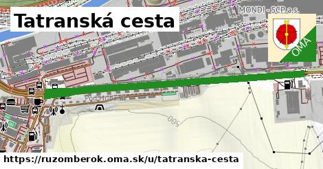 ilustračný obrázok k Tatranská cesta, Ružomberok