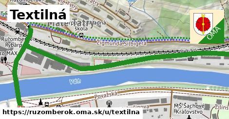 ilustrácia k Textilná, Ružomberok - 1,03km