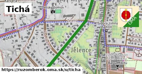 ilustrácia k Tichá, Ružomberok - 487m