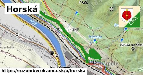 ilustrácia k Horská, Ružomberok - 1,42km