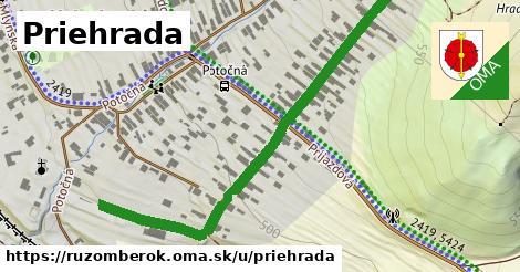 ilustrácia k Priehrada, Ružomberok - 629m