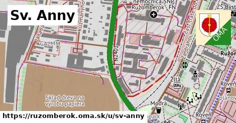 ilustrácia k Sv. Anny, Ružomberok - 423m