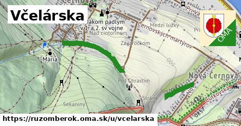 ilustrácia k Včelárska, Ružomberok - 632m