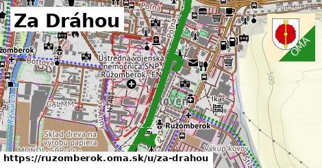 ilustrácia k Za Dráhou, Ružomberok - 1,61km