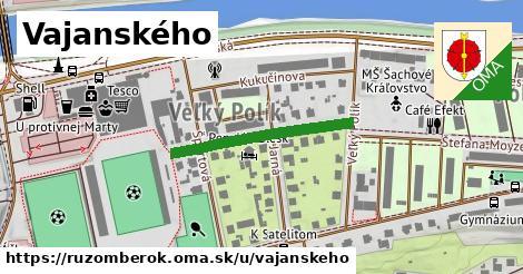 ilustrácia k Vajanského, Ružomberok - 261m