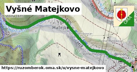 ilustračný obrázok k Vyšné Matejkovo, Ružomberok
