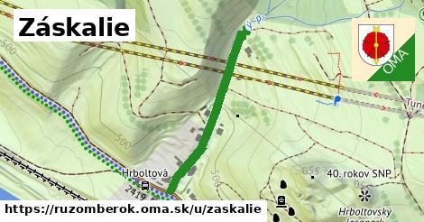 ilustračný obrázok k Záskalie, Ružomberok