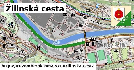 ilustrácia k Žilinská cesta, Ružomberok - 1,37km