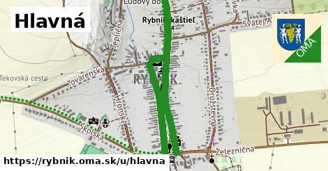 ilustrácia k Hlavná, Rybník - 1,34km