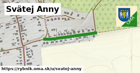 ilustrácia k Svätej Anny, Rybník - 281m