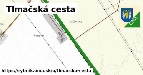 ilustrácia k Tlmačská cesta, Rybník - 0,99km
