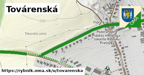 ilustrácia k Továrenská, Rybník - 0,88km