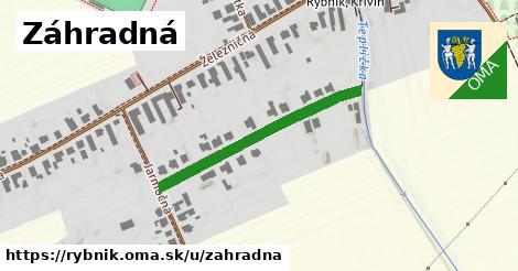 ilustrácia k Záhradná, Rybník - 327m