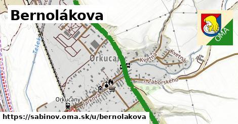 ilustrácia k Bernolákova, Sabinov - 1,47km