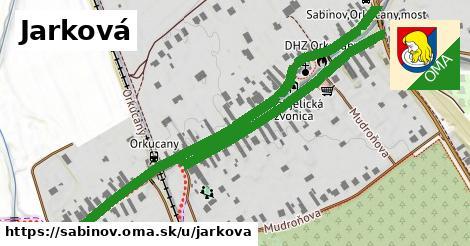 ilustračný obrázok k Jarková, Sabinov