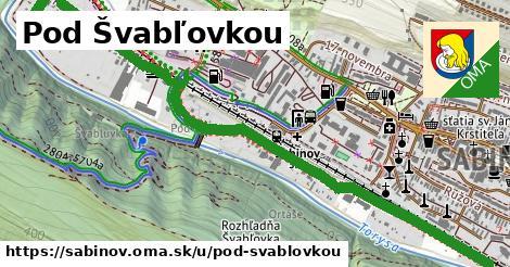 ilustrácia k Pod švabľovkou, Sabinov - 2,1km