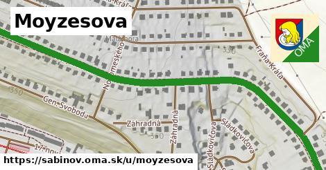 ilustrácia k Moyzesova, Sabinov - 0,96km