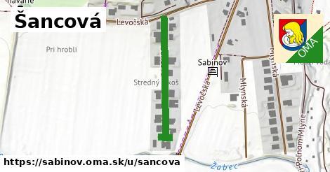ilustrácia k Šancová, Sabinov - 303m