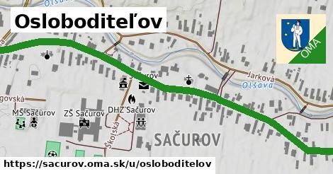 ilustrácia k Osloboditeľov, Sačurov - 0,96km