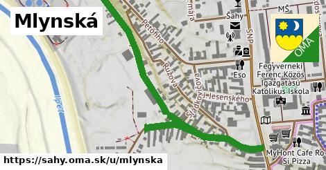ilustrácia k Mlynská, Šahy - 0,87km