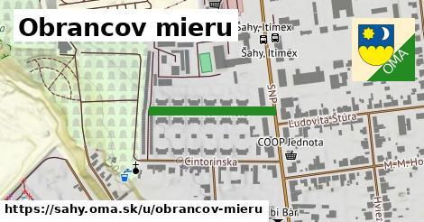 ilustrácia k Obrancov mieru, Šahy - 224m