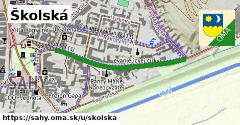 ilustrácia k Školská, Šahy - 1,84km