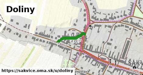 ilustrácia k Doliny, Šakvice - 157m