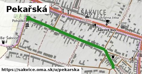 ilustrácia k Pekařská, Šakvice - 547m