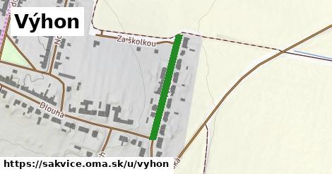ilustrácia k Výhon, Šakvice - 240m