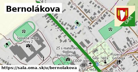 ilustračný obrázok k Bernolákova, Šaľa