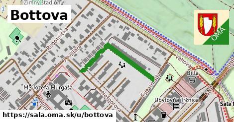 ilustrácia k Bottova, Šaľa - 307m