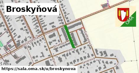 ilustrácia k Broskyňová, Šaľa - 131m