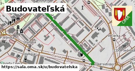 ilustrácia k Budovateľská, Šaľa - 432m