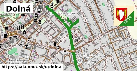 ilustrácia k Dolná, Šaľa - 1,02km