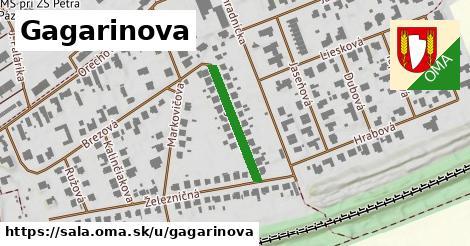 ilustrácia k Gagarinova, Šaľa - 200m