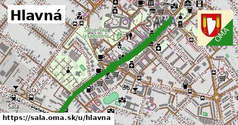 ilustrácia k Hlavná, Šaľa - 1,29km