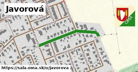 ilustrácia k Javorová, Šaľa - 350m