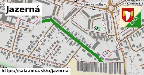ilustrácia k Jazerná, Šaľa - 507m