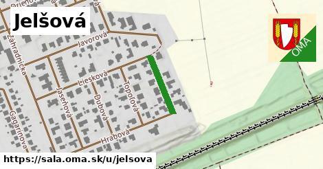 ilustrácia k Jelšová, Šaľa - 144m