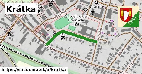 ilustrácia k Krátka, Šaľa - 297m