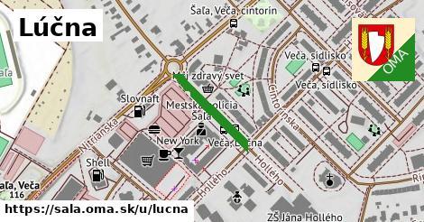 ilustrácia k Lúčna, Šaľa - 176m