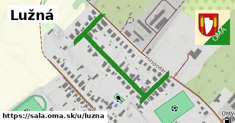 ilustrácia k Lužná, Šaľa - 281m