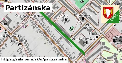 ilustrácia k Partizánska, Šaľa - 398m