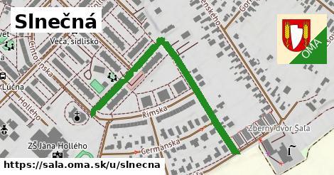 ilustrácia k Slnečná, Šaľa - 536m