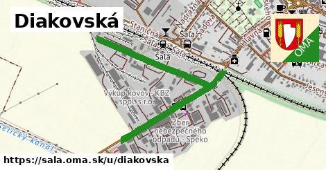 ilustrácia k Diakovská, Šaľa - 1,15km