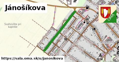 Jánošíkova, Šaľa