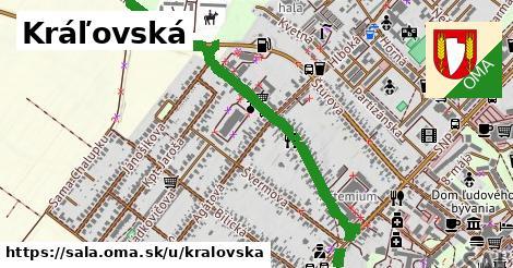 ilustrácia k Kráľovská, Šaľa - 1,50km