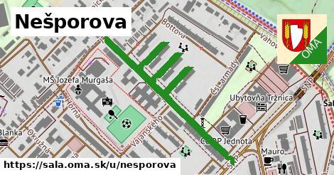 ilustrácia k Nešporova, Šaľa - 665m