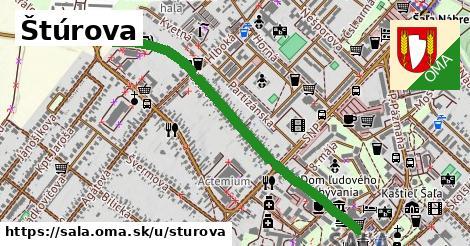 ilustrácia k Štúrova, Šaľa - 1,05km