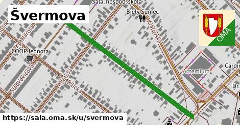Švermova, Šaľa
